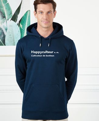 Hoodie homme Happyculteur