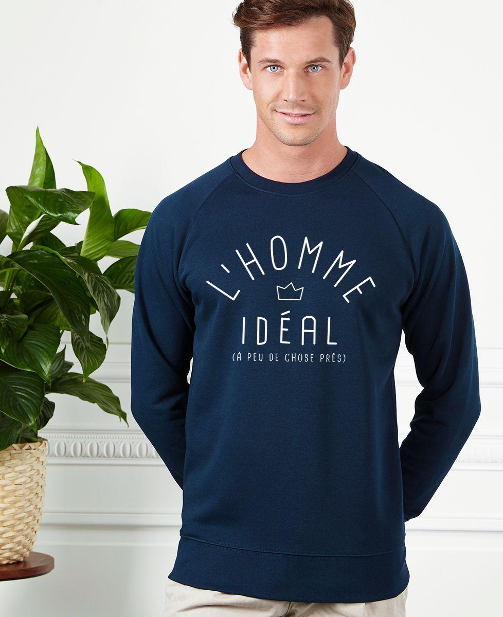 Sweatshirt homme L'homme idéal