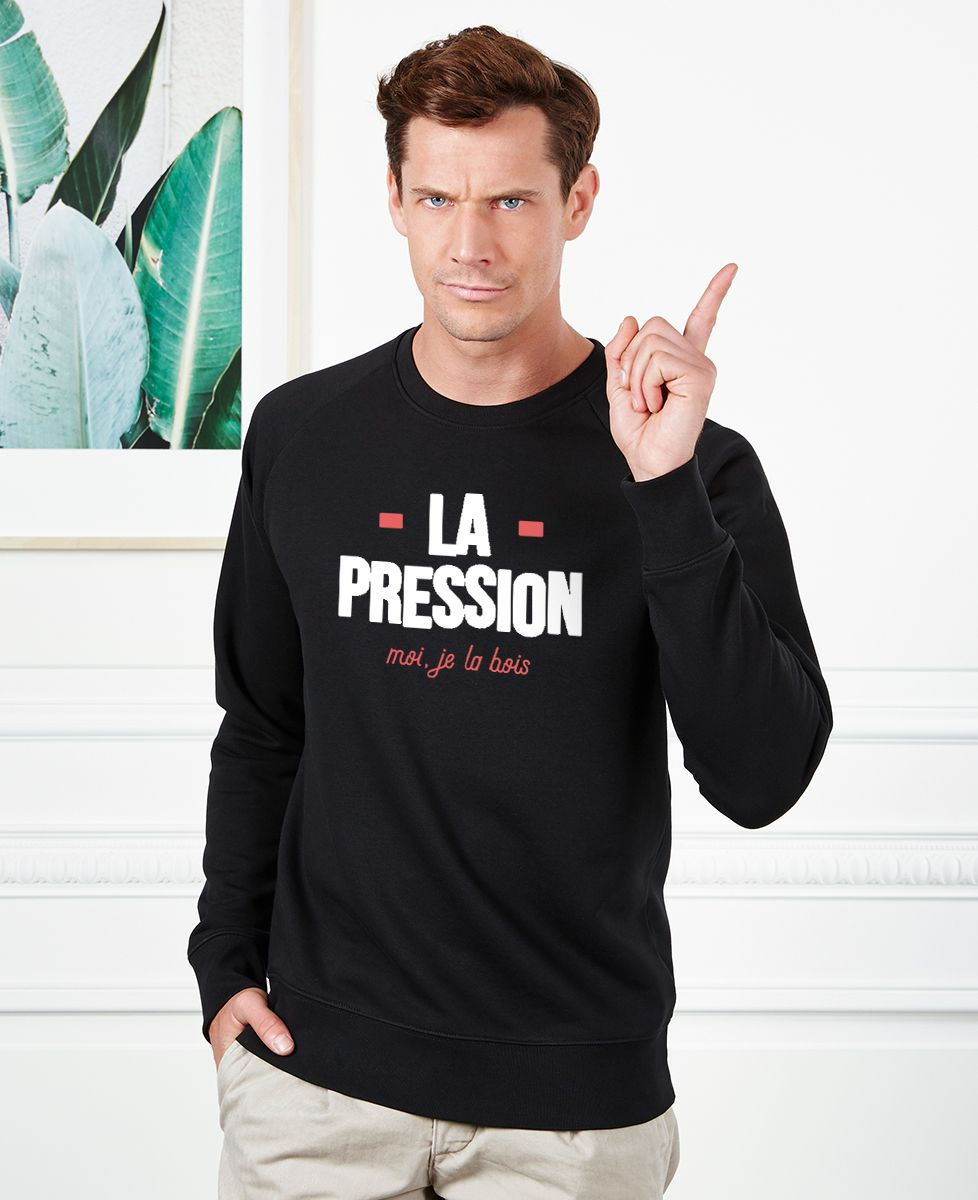 Sweatshirt homme La pression