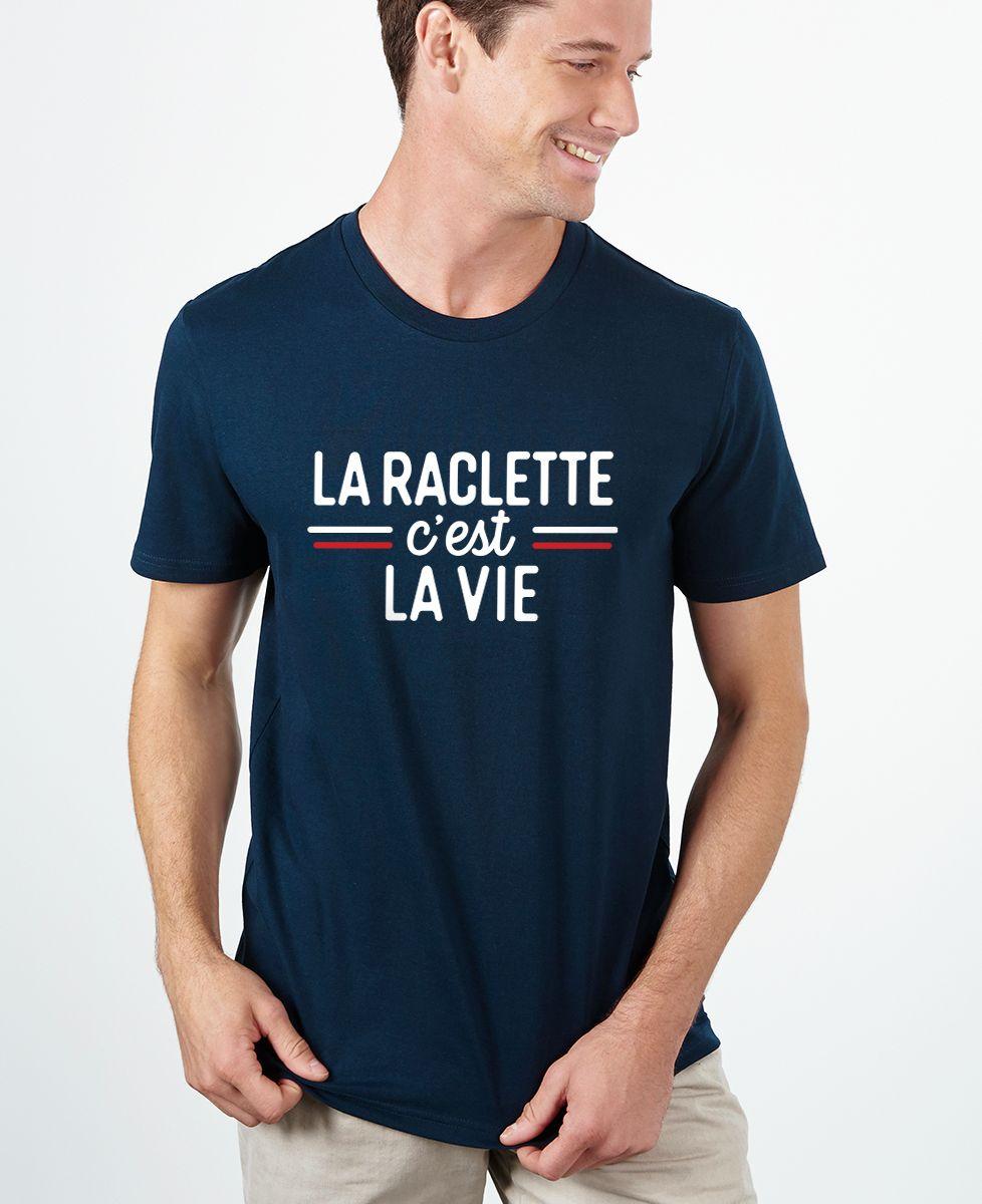 T-Shirt homme La raclette c'est la vie