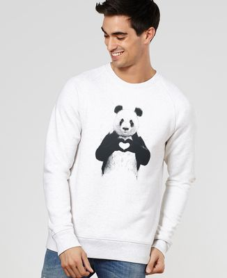 Sweatshirt homme All you need is love