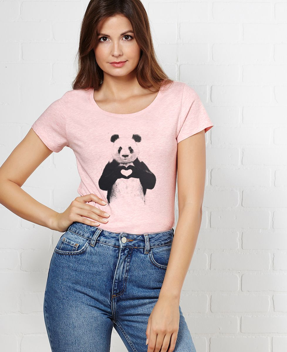 T-Shirt femme All you need is love