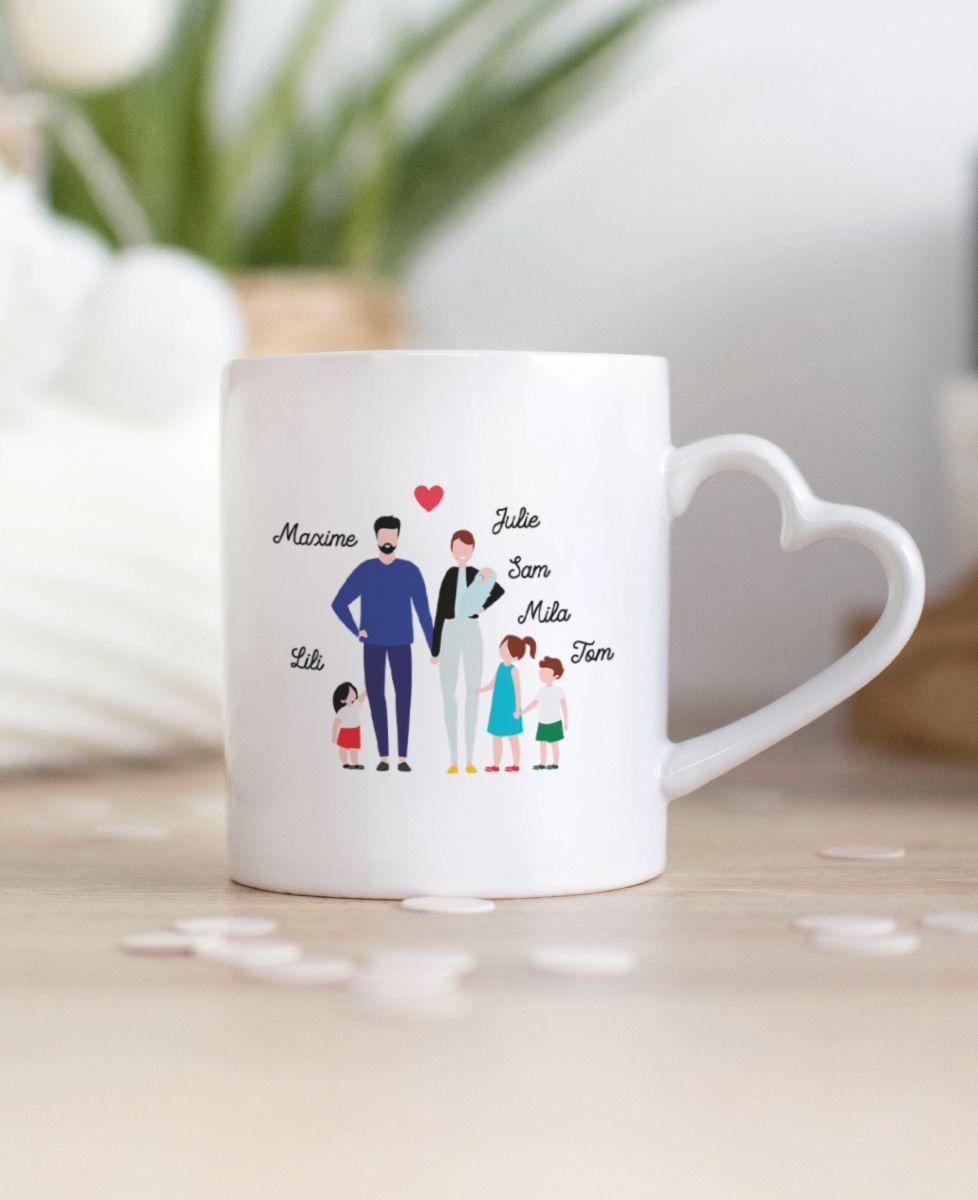 Mug Famille personnalisée