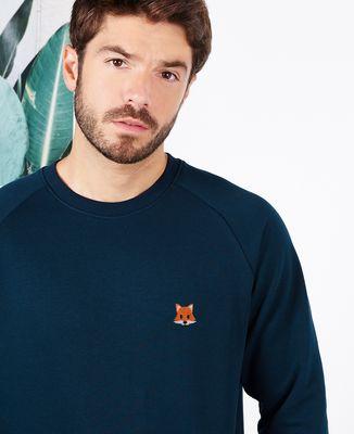 Sweatshirt homme Renard (brodé)