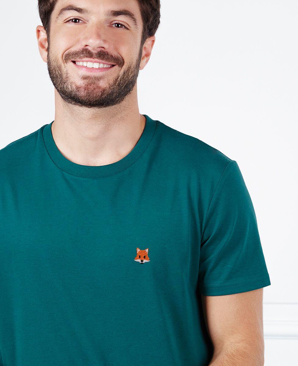 T-Shirt homme Renard (brodé)
