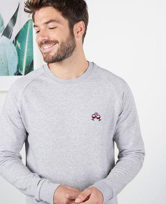 Sweatshirt homme Tchin tchin (brodé)