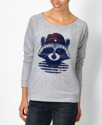 Sweatshirt femme Raton hipster