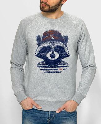 Sweatshirt homme Raton hipster