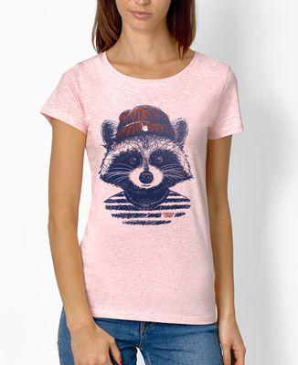 T-Shirt femme Raton hipster