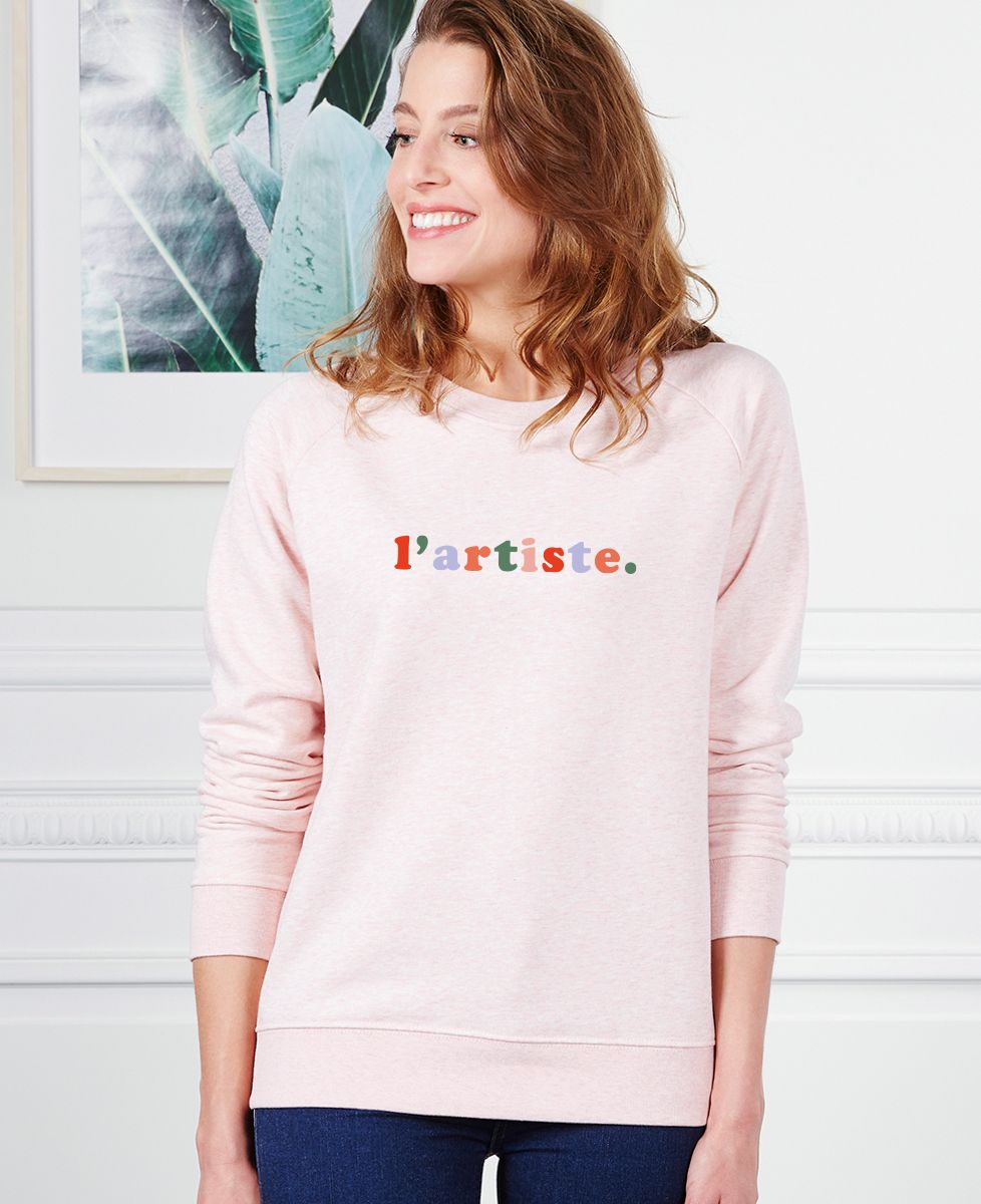 Sweatshirt femme L'artiste
