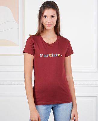 T-Shirt femme L'artiste