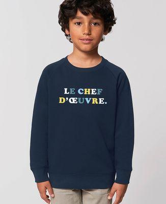 Sweatshirt enfant Le chef d'oeuvre