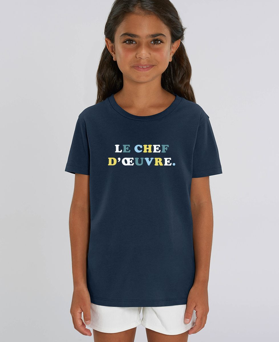 T-Shirt enfant Le chef d'oeuvre