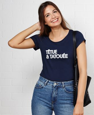 T-Shirt femme Têtue et tatouée