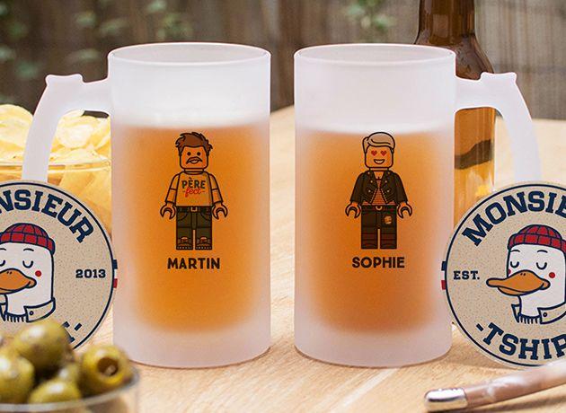 Nouvelles Chopes de bières
