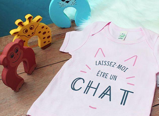 Papa Super h/éros T-Shirt Coton b/éb/é Tee Shirt Enfant