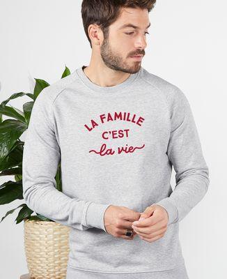 Sweatshirt homme La famille c'est la vie