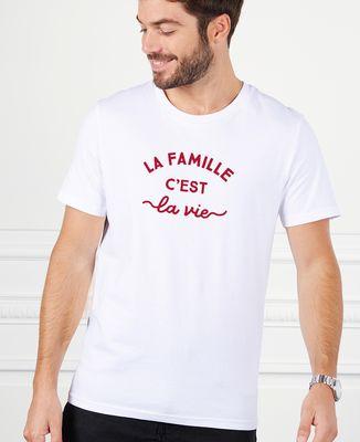 T-Shirt homme La famille c'est la vie