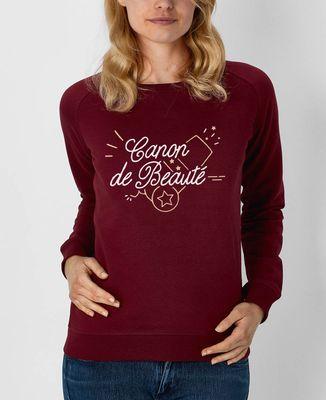 Sweatshirt femme Canon de beauté