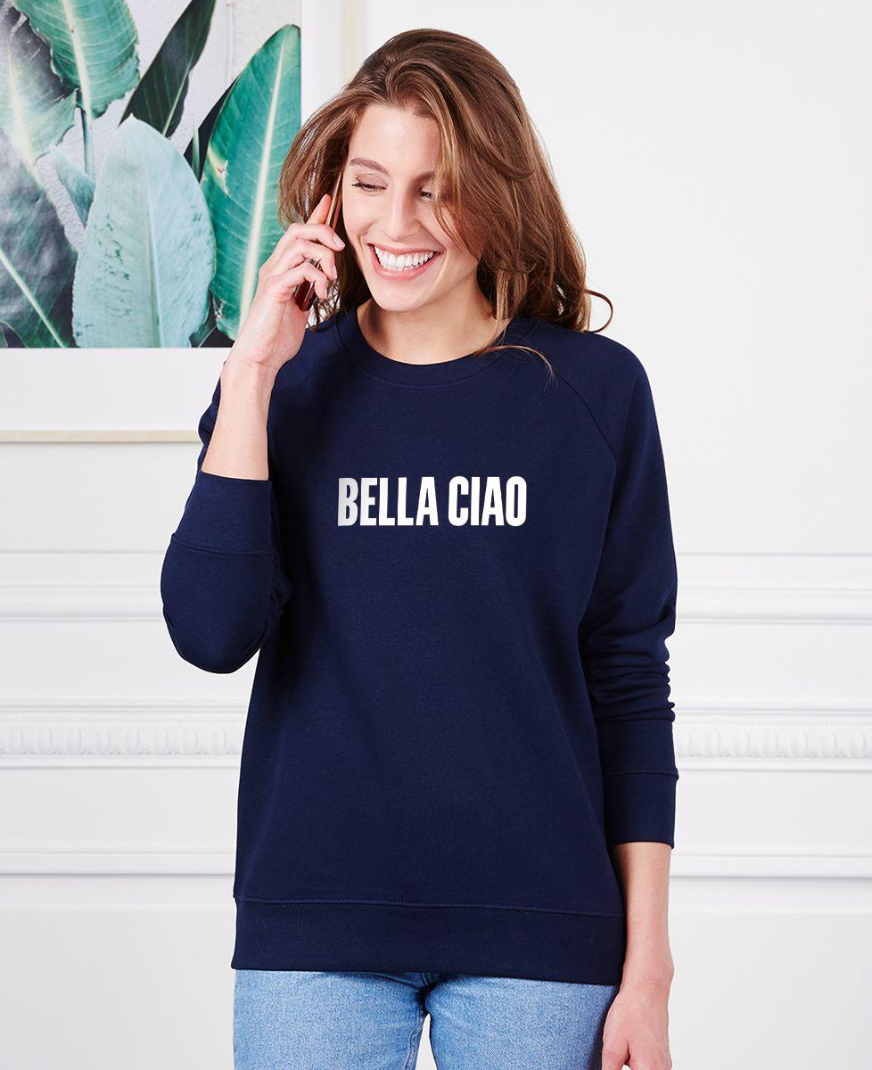 Sweatshirt femme Bella Ciao