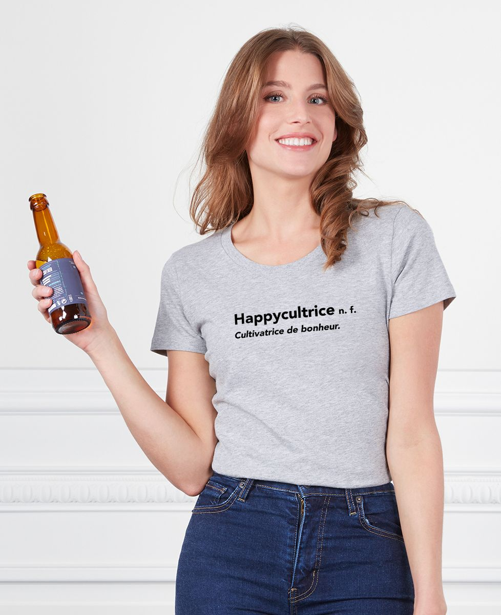 T-Shirt femme Happycultrice