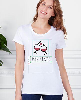 T-Shirt femme Imprimé personnalisé