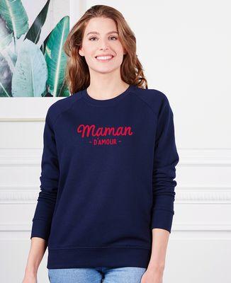 Sweatshirt femme Maman d'amour I