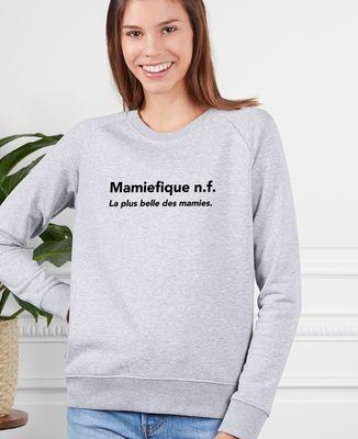 Sweatshirt femme Mamiefique