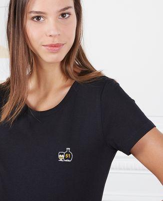 T-Shirt femme P'tit jaune (brodé)