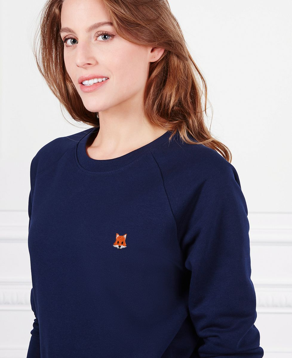Sweatshirt femme Renard (brodé)