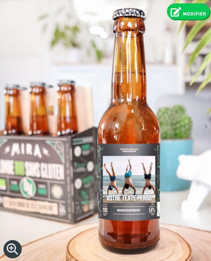 Bières personnalisés