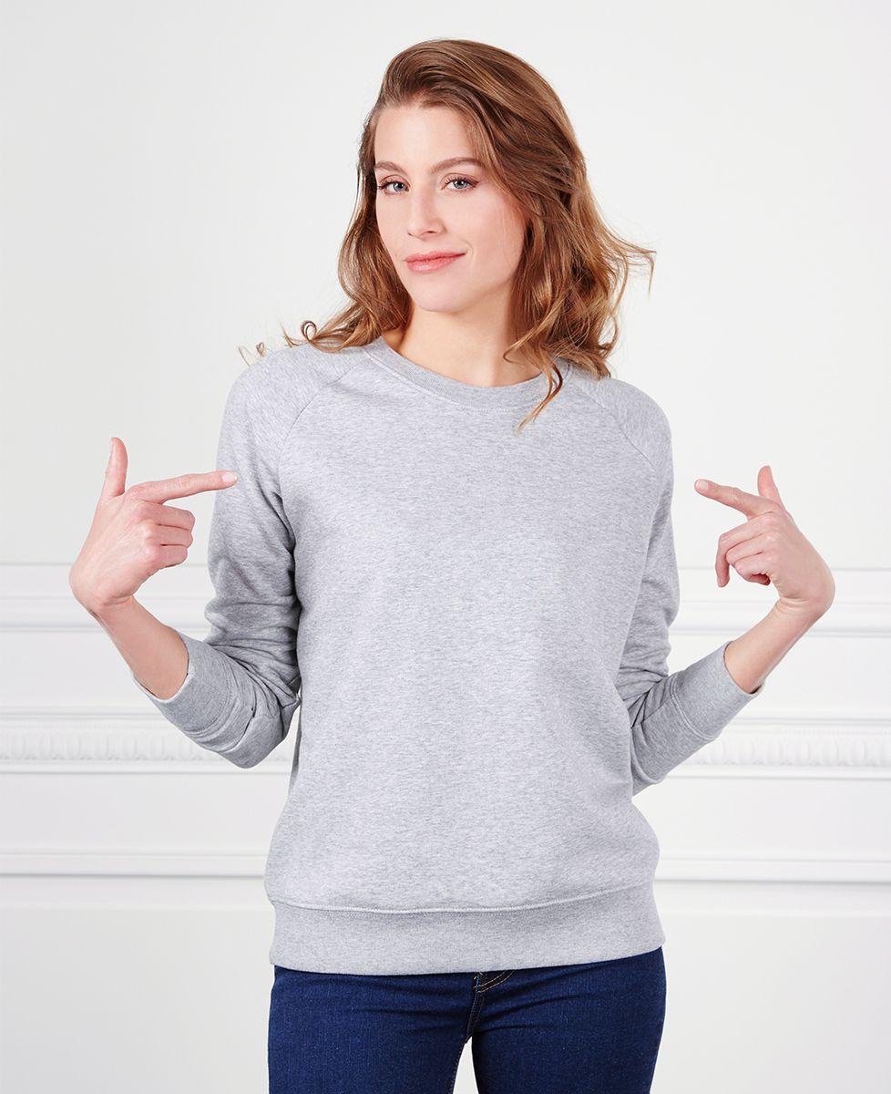 Sweatshirt femme Mum of nombre personnalisé