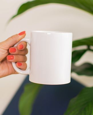 Mug Message et picto imprimé personnalisé