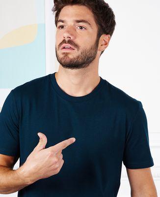 T-Shirt homme Message et picto imprimé personnalisé