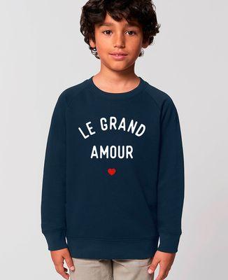 Sweatshirt enfant Le grand amour