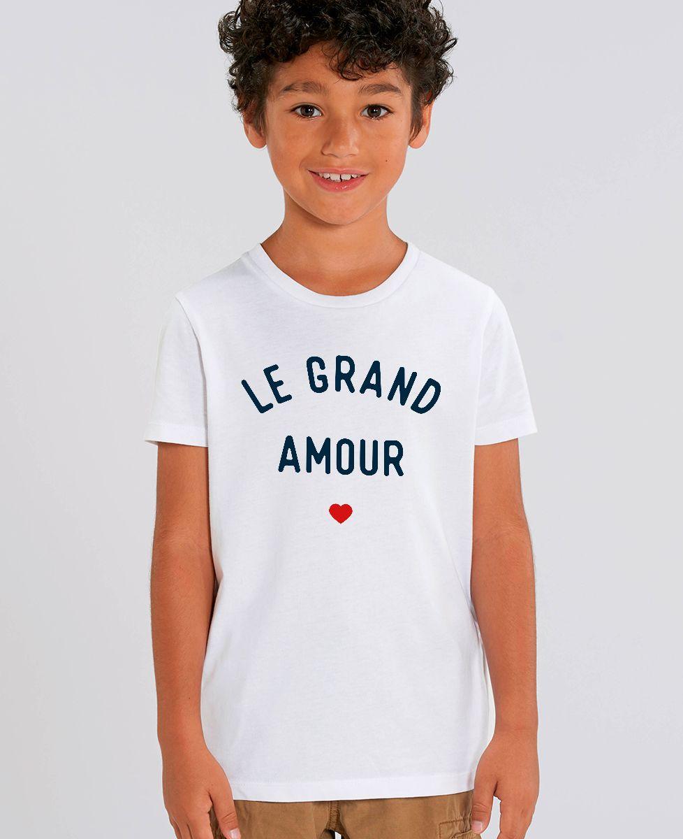 T-Shirt enfant Le grand amour