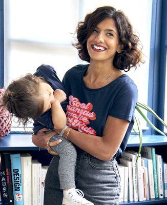 T-Shirt femme Cool mamas make cool kids