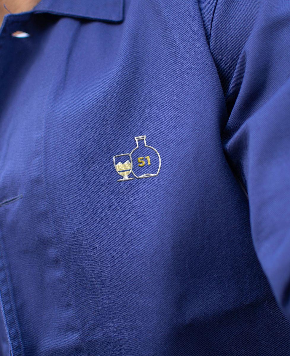 Veste de travail P'tit jaune (brodé)