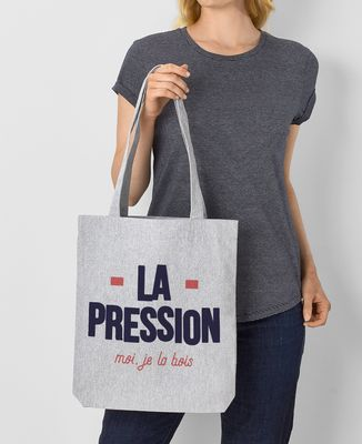 Tote bag La pression