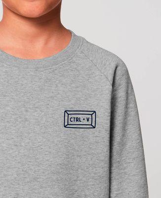 Sweatshirt enfant Ctrl + V