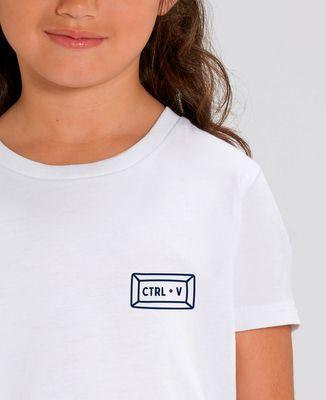 T-Shirt enfant Ctrl + V