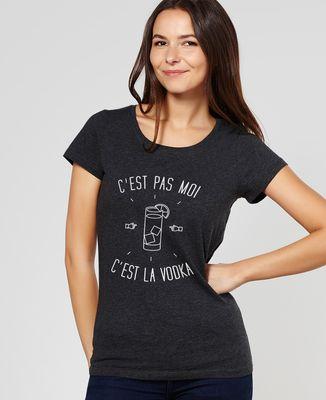 T-Shirt femme C'est la vodka