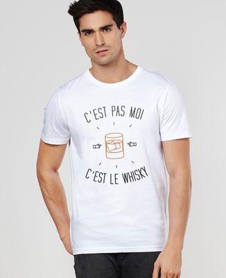 T-Shirt homme C'est le whisky