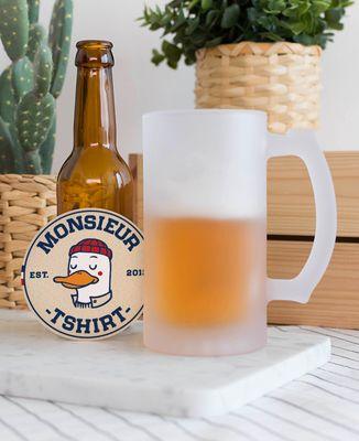 Chope de bière Figurine adulte personnalisé