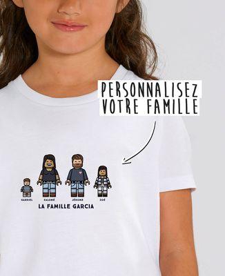 T-Shirt enfant Famille figurine personnalisé