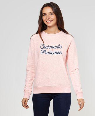 Sweatshirt femme Charmante française