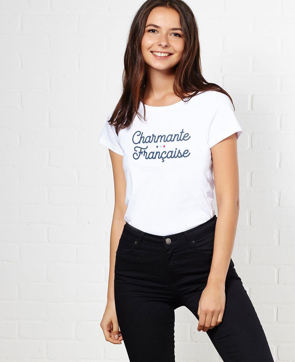 T-shirt Charmante française   Madame TSHIRT