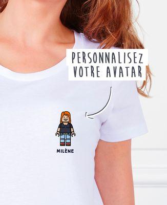 T-Shirt femme Figurine adulte personnalisé
