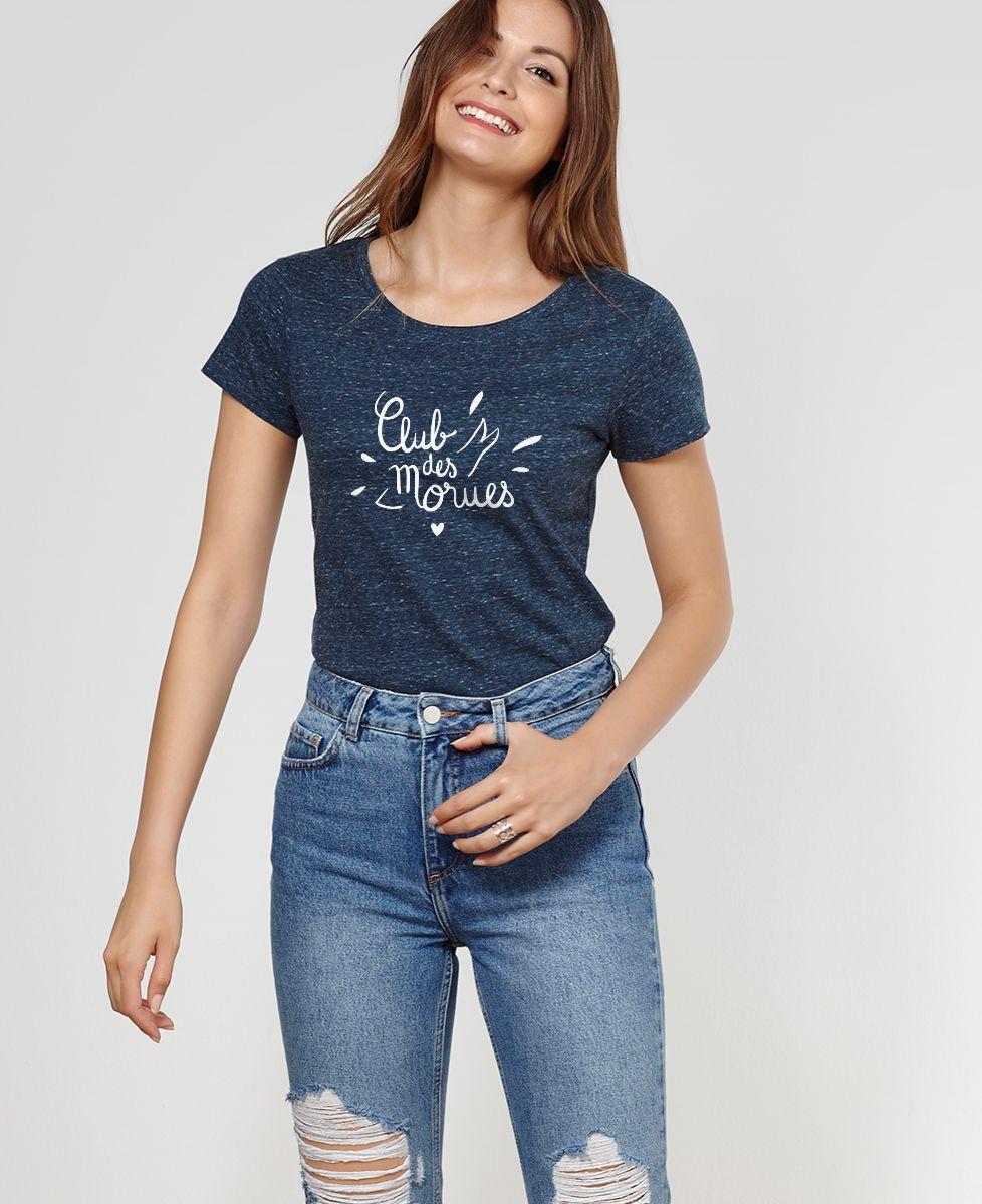 T-Shirt femme Club des morues