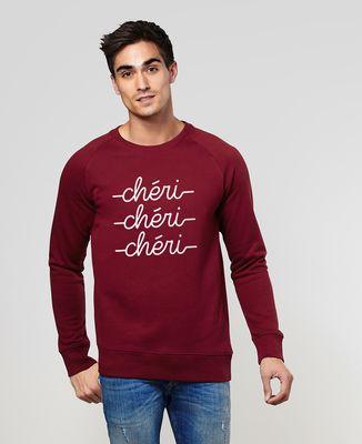 Sweatshirt homme Chéri chéri chéri